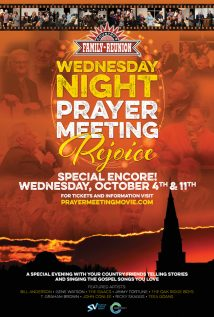 "Advertise in Wednesday Night Prayer Meeting – ""Rejoice"""