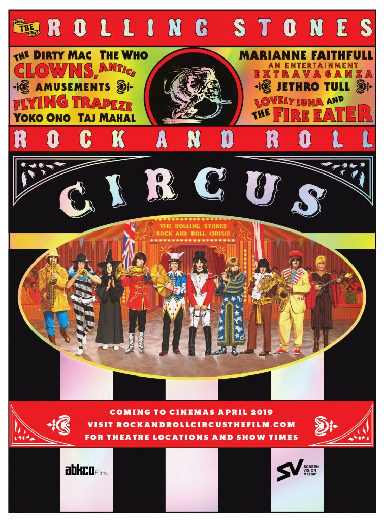 The Rolling Stones Rock and Roll Circus - Screenvision Media